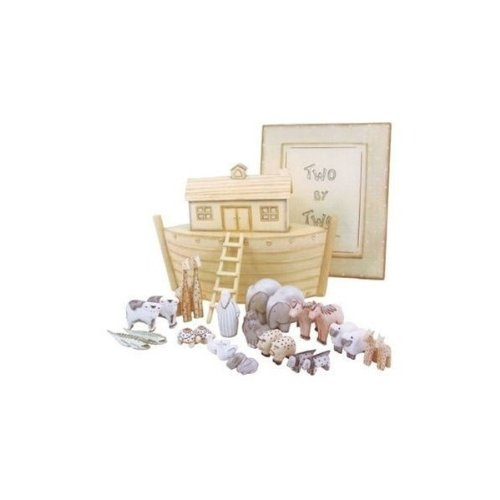 East of India - Noahs Ark & Wooden Two by Two Boxed Set by East Of India