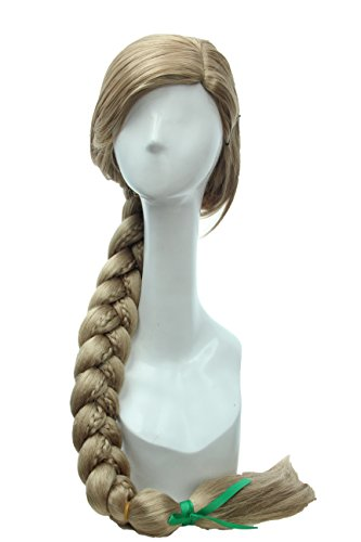 Soul Wigs:Long Blonde Princess Braids Costume Party Cosplay Wig