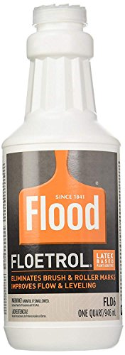1 Quart Flood Floetrol Additive, 6-Ounce Studio 71 Glow in The Dark Acrylic Paint, 6-Ounce Studio 71 White Acrylic Paint, 20x 6-inch Pixiss Wood Mixing Sticks by GrandProducts (Image #2)