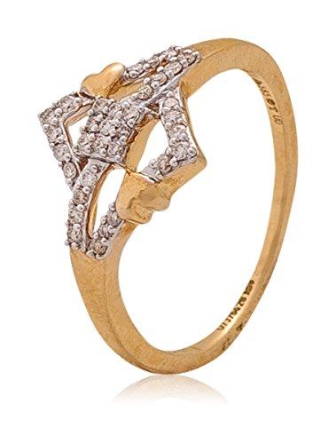 Buy Senco Gold Dia 24x7 Collection 18k Yellow Gold and Diamond