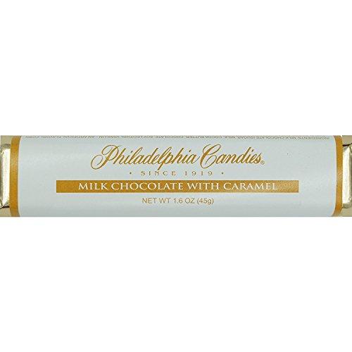 Philadelphia Candies Milk Chocolate with Caramel Bar 1.60 Ounce, Set of 30 (Fundraising/Individual Retail Sale) (Best Chocolate In Philadelphia)