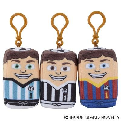 RIN001 12PC, 3''x 2'' x 1.5'' SOCCER STAKZ - KEY CHAIN (2dz/min) by RIN001