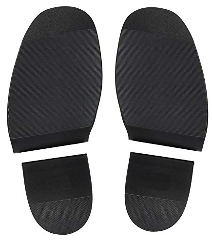 Shoe Repair Replacement Rubber Heels and Soles 1 Pair (Skate Shoe Glue)