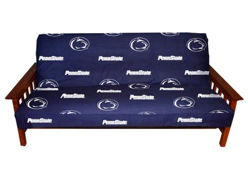 College Covers Penn State Nittany Lions Futon Cover - Full size fits 6 and 8 inch mats by College Covers