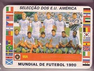- 1990 World Cup Teams Soccer Card Set