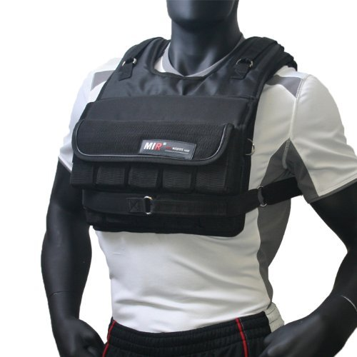 MIR - ADJUSTABLE WEIGHTED VEST (SHORT STYLE) (Short Plus, 70lbs) by MiR