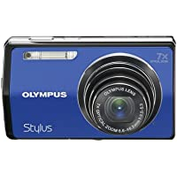 Olympus Stylus 7000 12 MP Digital Camera with 7x Optical Dual Image Stabilized Zoom and 3-Inch LCD (Blue) Basic Intro Review Image