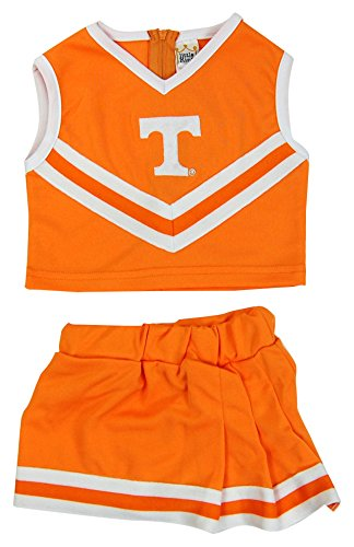 Cheerleader Costume Size 8 (NCAA Tennessee Volunteers Two Piece Cheer Dress, Size 8, Tennessee Orange)