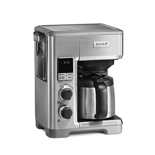 Wolf Gourmet WGCM110S Programmable Coffee System