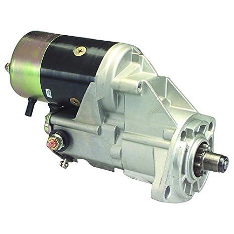 Partes reproductor nuevo Starter para Komatsu carretilla elevadora FD20 con seco embrague 128000 - 9971 128000 - 9972: Amazon.es: Coche y moto