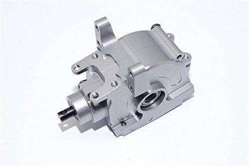 Axial Yeti (AX90026) & Yeti SCORE (AX90050) Aluminum Front Bulkhead - 1 Set Gray Silver ()