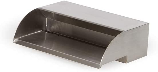 Atlantic Water Gardens SS12-316 Waterfall Spillway, 12-inch, Stainless Steel