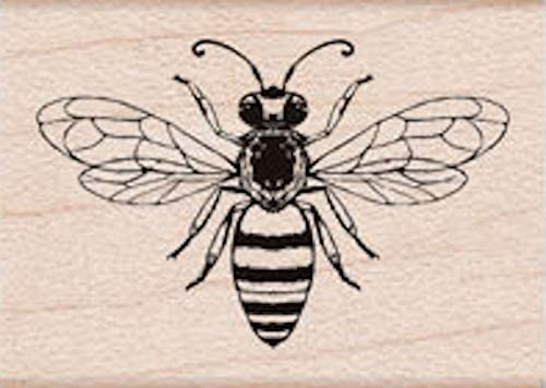 Hero Arts A6291 Wood Stamps, Friendly Bee