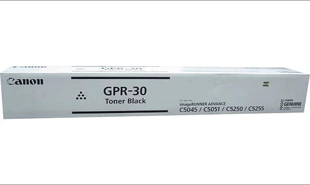 in Retail Packaging Black Canon GPR-30BK 2789B003 ImageRunner Advance C5045 C5051 C5250 Toner Cartridge