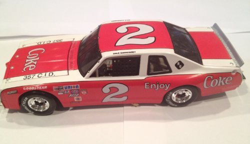 1/24th Scale Dale Earnhardt Sr #2 Coca Cola Coke Ventura Action Racing Collectables Historical Legendary Series Edition 2002 Issue Hood, Trunk Opens Car Finished 2nd at Charlotte on 4 October 1980