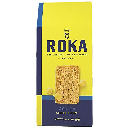 Roka, Gouda Cheese Crisps (8 pack) (Best Cheese Biscuits)