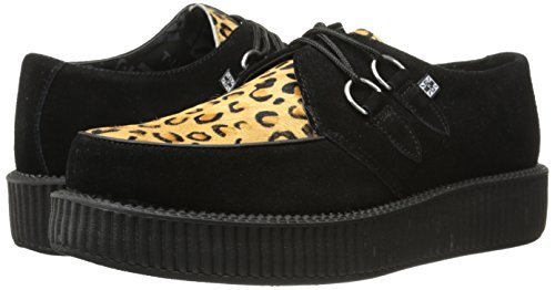 Mode Mixte Leopard Adulte Low u Sole Noir Creeper Round T black Baskets k 1R8Z4qxRw0