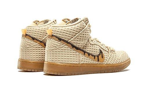 Nike Herren Dunk High Premium SB Fitnessschuhe flt gold star, classic brown
