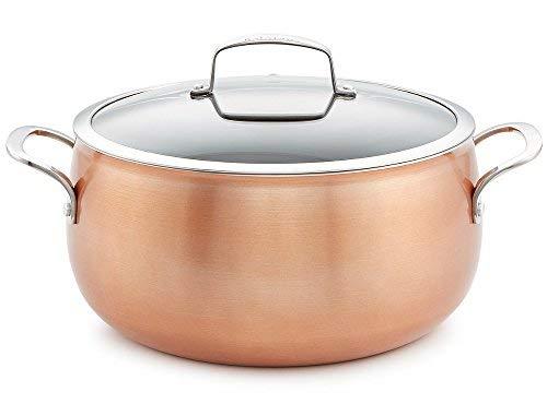 Belgique Copper Translucent 7.5-Qt. Dutch Oven (Belgique Stainless Steel 11 Pc Cookware Set)