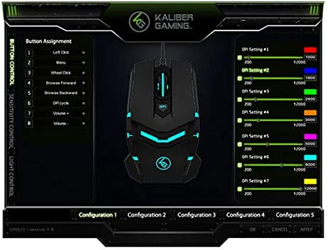 GGMCS IOGEAR Kaliber Gaming ELEVATR Mouse Cable Manager