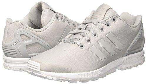 Zx grey Adidas Basse Scarpe Ginnastica footwear White Donna Grigio Two Two Da Flux grey 4dx8d