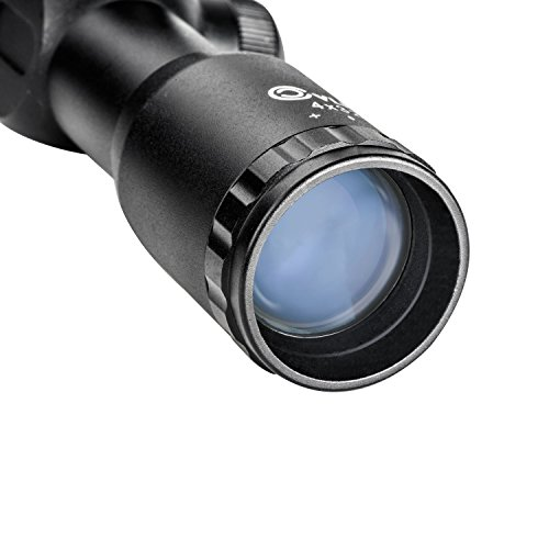 Review CVLIFE 4×32 Compact Rifle Scope Crosshair Optics Hunting Gun Scope with 20mm Free Mounts
