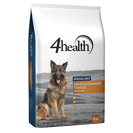 4health Special Care Sensitive Stomach Formula for Adult Dogs, 8 lb. Bag