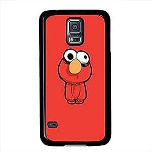 Samsung Galaxy S5 I9600 Case, iCustomonline Zombie Elmo Case Cover for Samsung Galaxy S5 I9600 Protective Hard Black