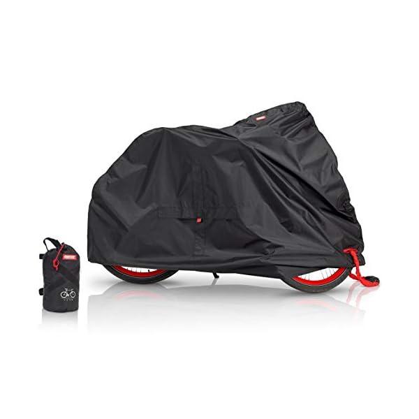 41 1rKJTbML BARTSTR Fahrradabdeckung wasserdicht - Wetterfeste Fahrradgarage aus reißfestem Material - Extra stark, hoher UV-Schutz…