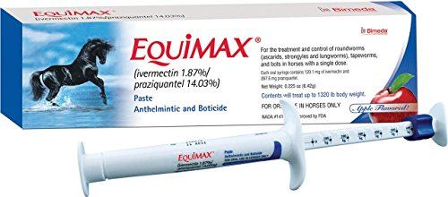 Equine Wormer (Equimax, 6.42 gm Paste)