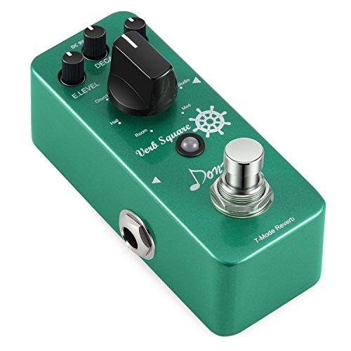 Digital Reverb Guitar - Donner Digital Reverb Guitar Effect Pedal Verb Square 7 Modes