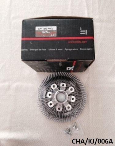 SRL ventilatore viscoso frizione Grand Cherokee WJ 4.0l, 4.7l, 3.1td 1999 –  2004/Cherokee (Liberty) KJ 3.7l 2002 –  2007 3.1td 1999-2004/Cherokee (Liberty) KJ 3.7l 2002-2007