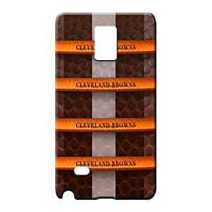 samsung note 4 case cover Scratch-free phone Hard Cases With Fashion Design phone cases covers cleveland browns nfl football