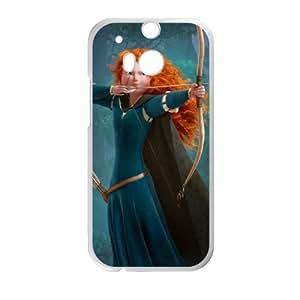 HTC One M8 phone case White Brave PGD4524144