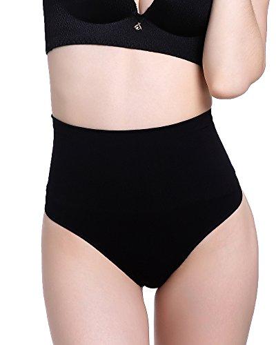 Women's Shapewear High-Waist Tummy Control Slim Panties Sexy Thong Briefs