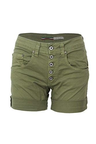 Oliva Verde Donna Shorts Please Basic P88acv9m07 gpwqz