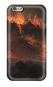 For Iphone 6 Premium Tpu Case Cover Spaceship Protective Case