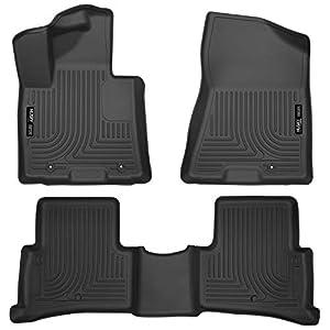 Husky Liners – 99891 Fits 2017-20 Kia Sportage Weatherbeater Front & 2nd Seat Floor Mats, Black