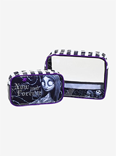 The Nightmare Before Christmas 2-Piece Makeup Bag Set