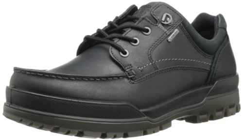 ECCO Men's Track 6 GTX Moc Toe Tie Oxford,Black,41 EU/7-7.5 M US ()