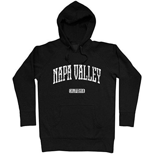 - Smash Transit Men's Napa Valley California Hoodie - Black, Small