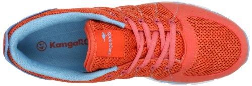 KangaROOS Luke 3271A - Zapatillas para hombre Naranja (Orange (prawn/wave 641))