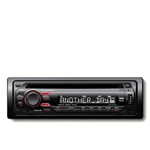 Sony CDX-GT33U sintonizador de CD/DVD para el coche - Radio para coche (SSIR-EXA, FM, LW, MW, 24 bit, LCD, Negro, 100 W)