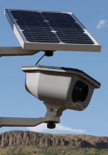 Construction Camera Solar Power for Time-lapse and Site Security & Surveillance with Cellular & WiFi