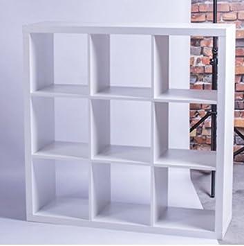 LOFT Regal mit 9 Fächern Bücherregal Wohnzimmer Schlafzimmer Lounge ...