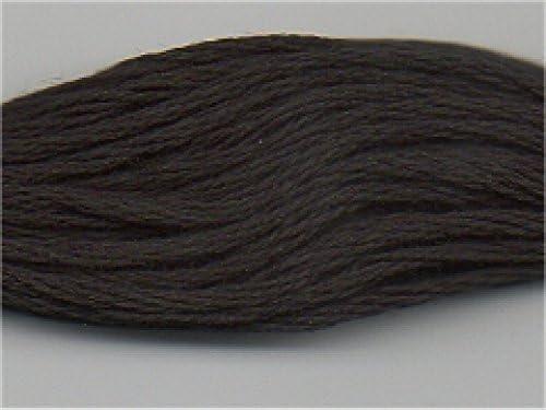 DMC 310 - Hilo de bordar de algodón trenzado – por madeja: Amazon.es: Hogar