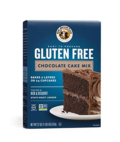 (King Arthur Flour, Chocolate Cake Mix, Gluten Free, 22 Ounce)