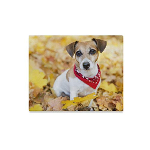 Wall Art Painting Jack Russell Terrier Puppy Dog Pattern Prints On Canvas The Picture Landscape Pictures Oil for Home Modern Decoration Print Decor for Living Room