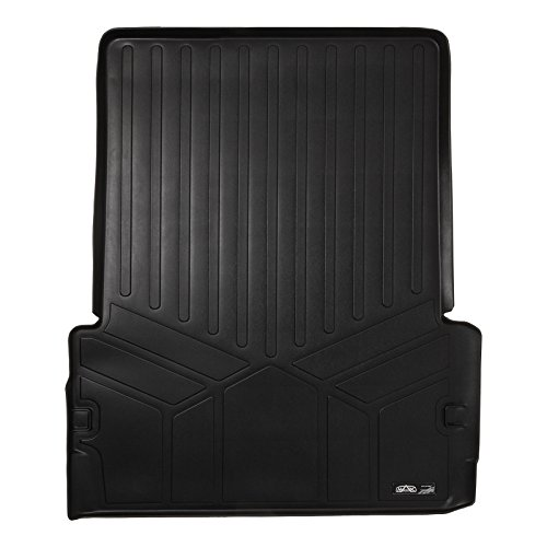 MAX LINER D0113 All Weather Custom Fit Cargo Trunk Liner Floor Mat Behind 2nd Row Black for 2011-2019 Dodge Durango