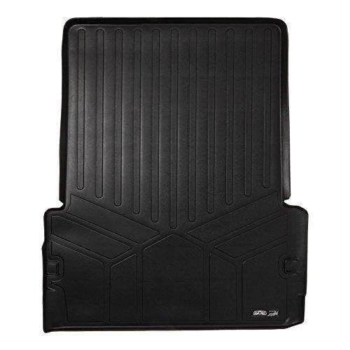 - SMARTLINER All Weather Cargo Liner Floor Mat Behind 2nd Row Black for 2011-2018 Dodge Durango